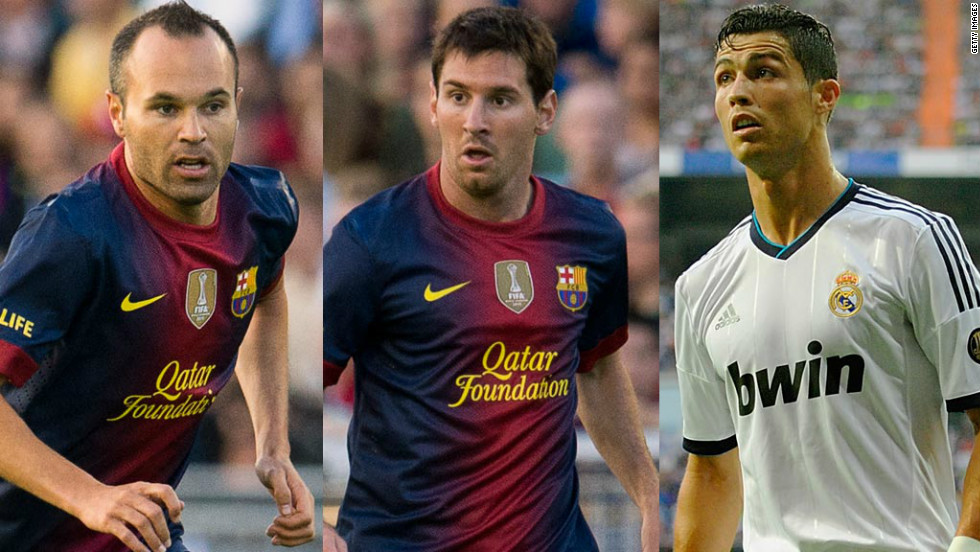 Barcelona's Andres Iniesta, Lionel Messi and Real Madrid's Cristiano Ronaldo were all nominated for the prestigious Balon d'Or award this year. The last time the Barca-Real league monopoly was broken was in 2004 when Rafael Benitez's Valencia won La Liga.