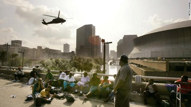 Hurricane Katrina devastated New Orleans when it struck the Gulf Coast in late August 2005.