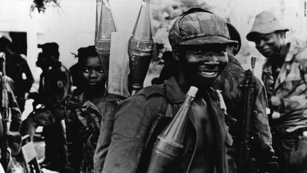 Write an editorial about the civil war in angola