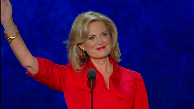 Ann Romney addresses the RNC