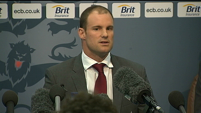 Andrew Strauss retires from cricket