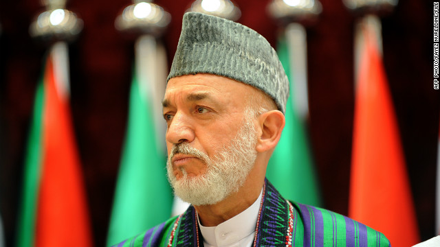 Hamid Karzai: CIA gives us money