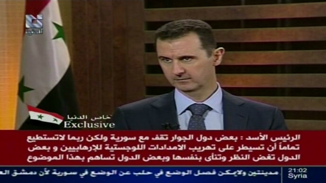 Al-Assad blames Turkey for Syria killings