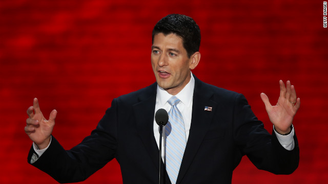 Ryan sets agenda for foreign policy
