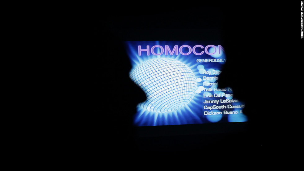 This was the third annual Homocon. The event started in New York in 2010.