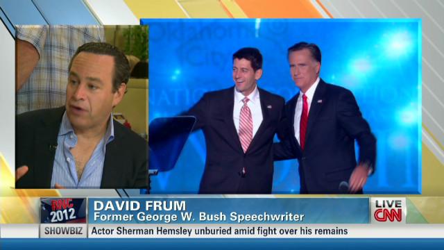 David Frum on Romney's acceptance speech