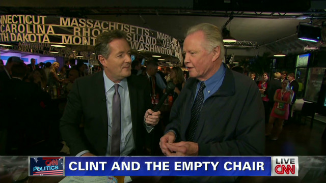 Jon Voight's reaction to Clint Eastwood