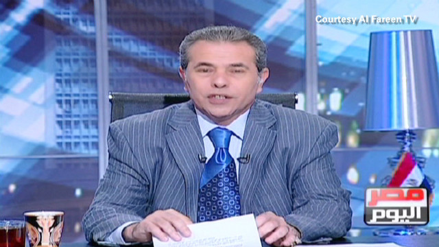 Egypt president squashing media dissent?