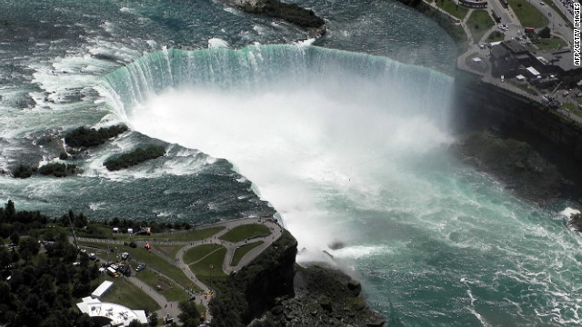 The torso was spotted by citizens Wednesday and recovered near the Rainbow Bridge near Niagara Falls.