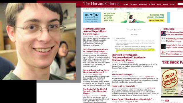 Harvard students accused of cheating