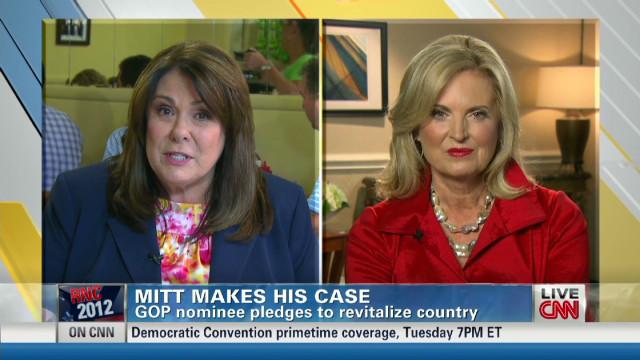 Ann Romney: Women voters want a grownup