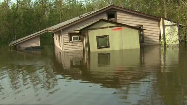 Isaac's surge still danger for Louisiana