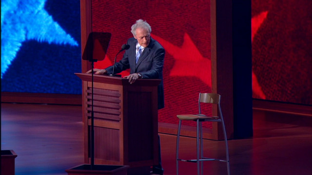 Social media and Eastwood's RNC speech