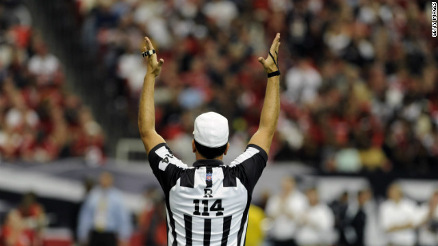 "The referees' union negotiator says his members ""won't be back on the field"" next week ."