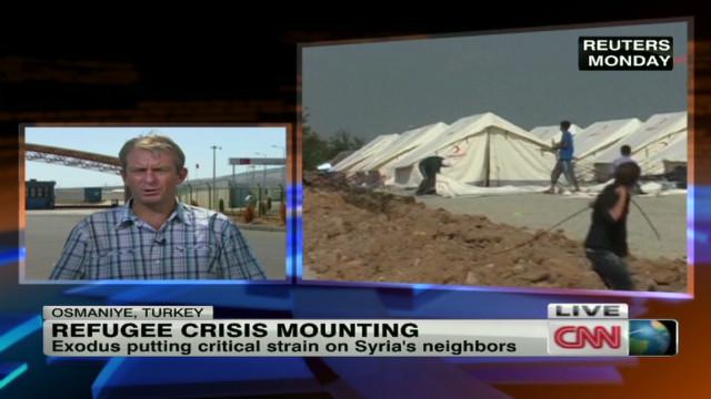 Syria refugee crisis mounting