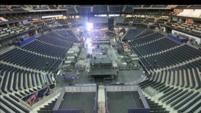 Time-lapse of DNC floor preparations