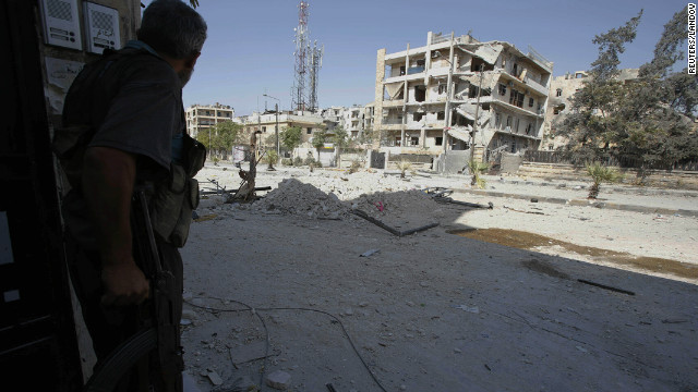 Red Cross: Syria conflict must end
