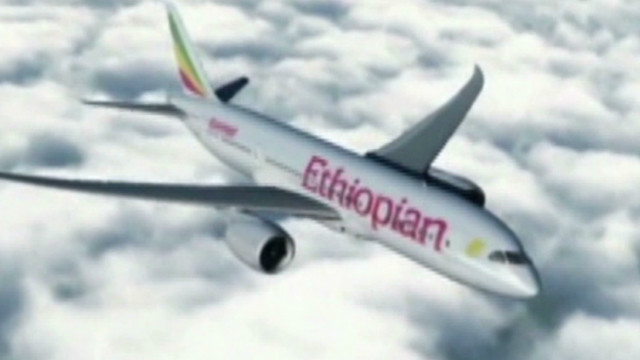 Historic landing for Ethiopian Airlines