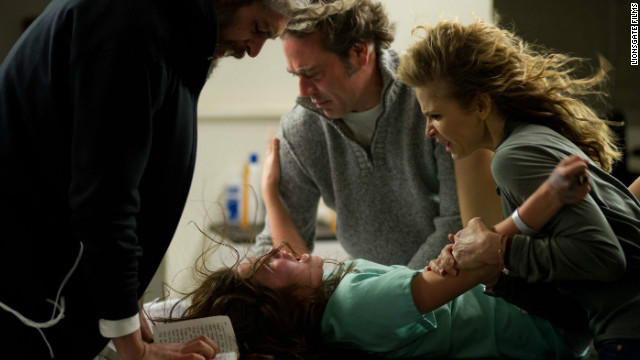 "Matisyahu, Natasha Calis, Jeffrey Dean Morgan and Kyra Sedgwick star in ""The Possession."""