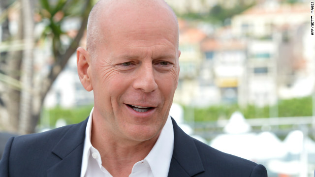 Bruce Willis at the Cannes Film festival in May 2012.