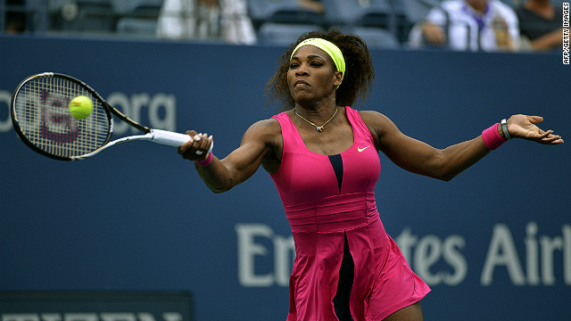 Serena Williams is seeking a 15th Grand Slam singles title at Flushing Meadows