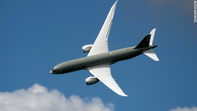 The new Boeing Dreamliner helped the manufacturer overtake Airbus in deliveries.