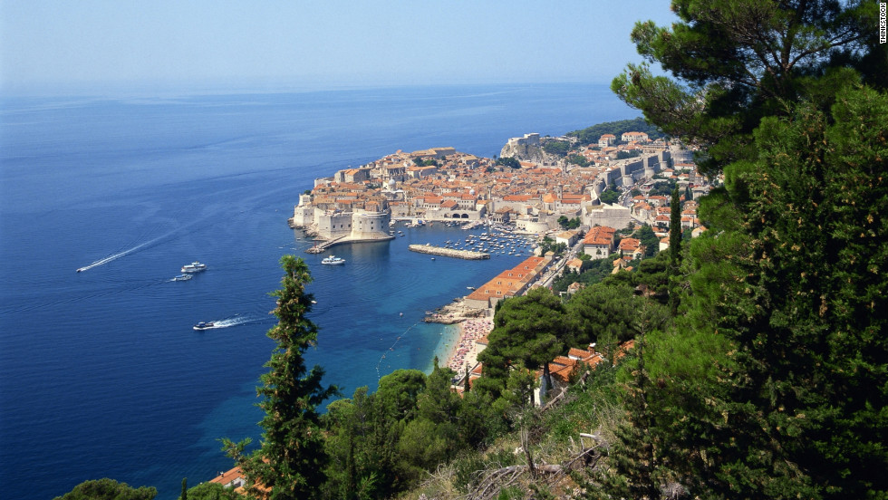 The coast of Dubrovnik, Croatia is a popular spot for travelers to Eastern Europe. Europe airfares and hotels tend to drop in the fall.