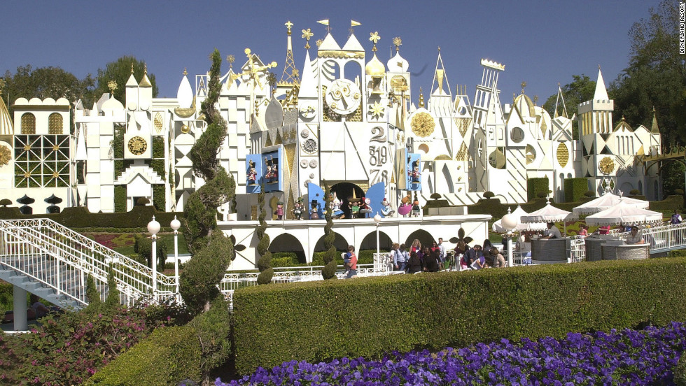 Amusement parks magically seem larger when crowds are thinner.