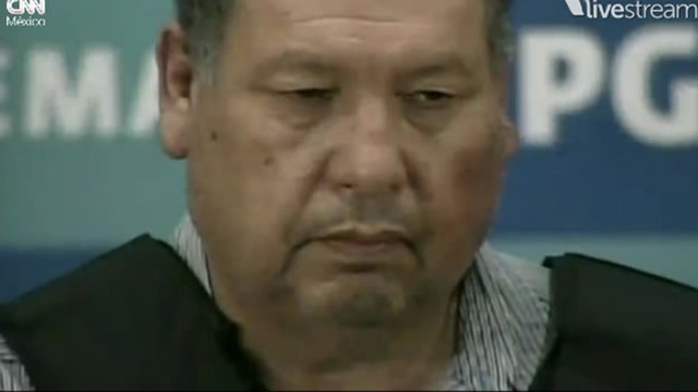Mexican authorities have captured  a man presumed to be Mario Cardenas Guillen, suspected leader of the Gulf cartel.