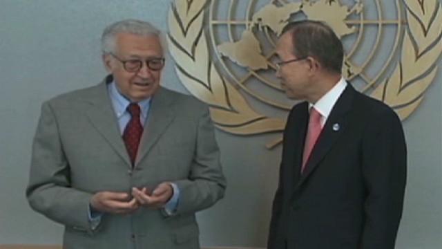 Diplomat: Brahimi has serious challenge