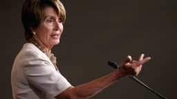 At WH dinner, Pelosi asks, 'Do women get to talk here?'