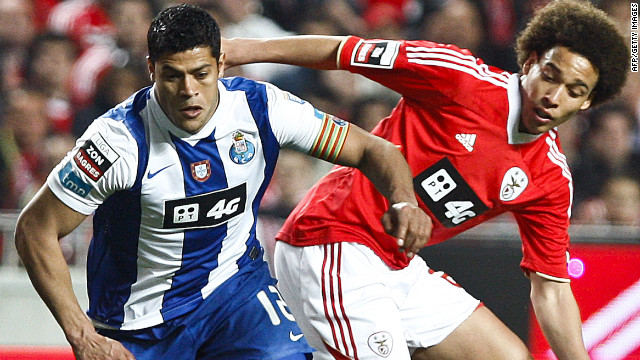 Brazilian striker Hulk and Belgian midfielder Axel Witsel joined Zenit from Porto and Benfica.