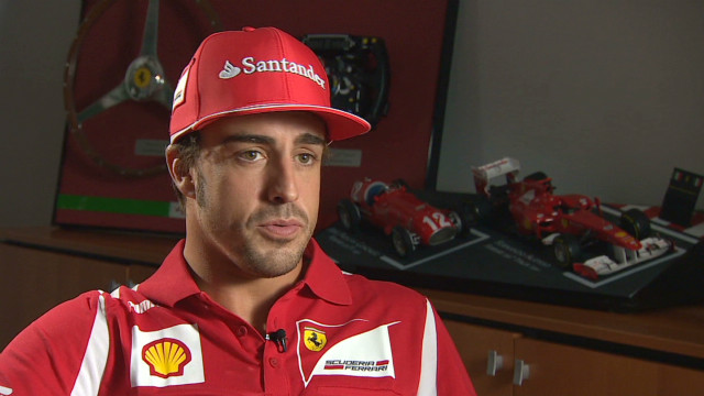 Fernando Alonso recovers from car crash
