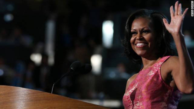 Watch Michelle Obama's full speech