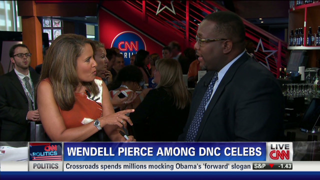 Wendell Pierce among DNC celebs