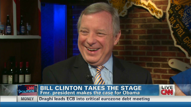 Sen. Durbin: Clinton 'is a great teacher'