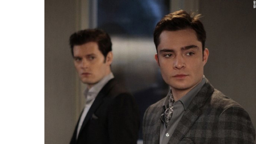 "Chuck Bass (Ed Westwick) has gone from ""bad boy billionaire to seriously suited business maven,"" Daman said, adding that his style was inspired by fictional characters Gordon Gekko, of 1987's ""Wall Street,"" and Patrick Bateman, of 2000's ""American Psycho."""
