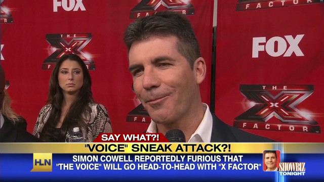 Simon Cowell fuming over TV face off