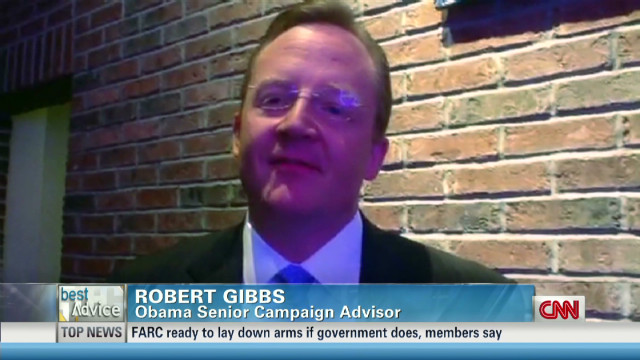Best Advice: Robert Gibbs