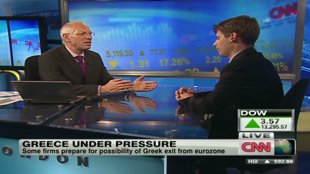 Companies prepare if Greece exits Euro