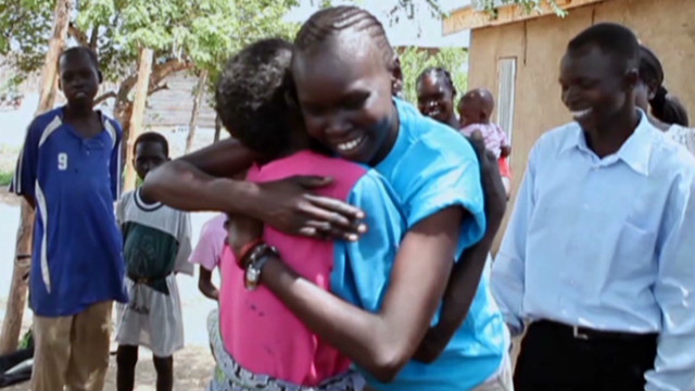 Alek Wek's emotional trip to South Sudan