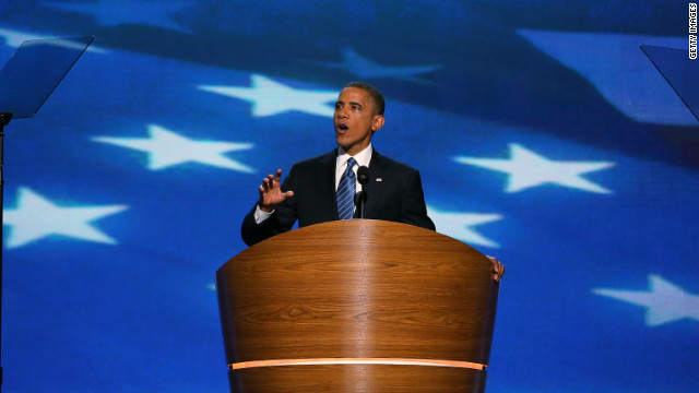 President Obama was tempered and more cautious in his speech at the Democratic National Convention, says David Gergen.