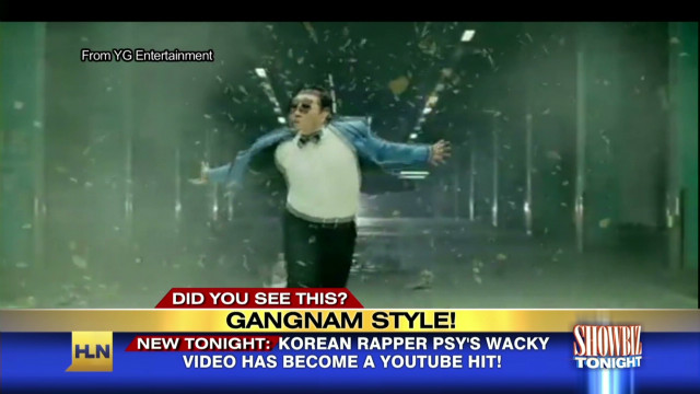 "Psy shows off ""Gangnam  Style"" at VMAs"