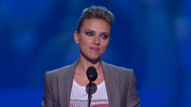 Watch full Scarlett Johansson speech