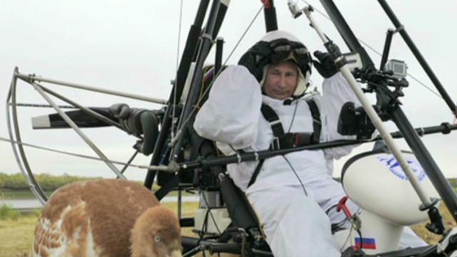 A bird, a plane, it's Vladimir Putin