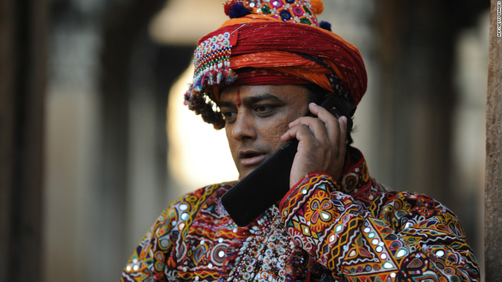 According to Indian telecom regulatory authority, there are 920 million mobile phone subscribers in the country.