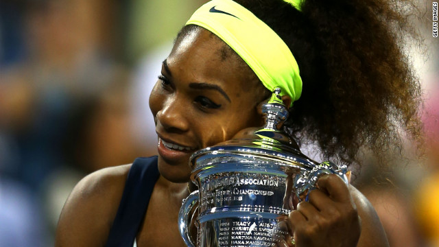 Serena Williams: Never quit
