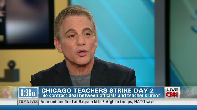 Tony Danza on the Chicago teacher strike