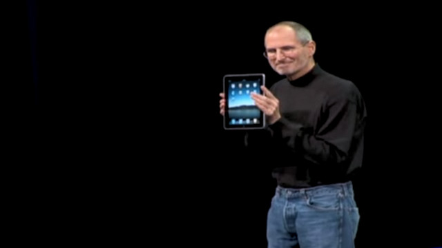 2010: Apple iPad revealed