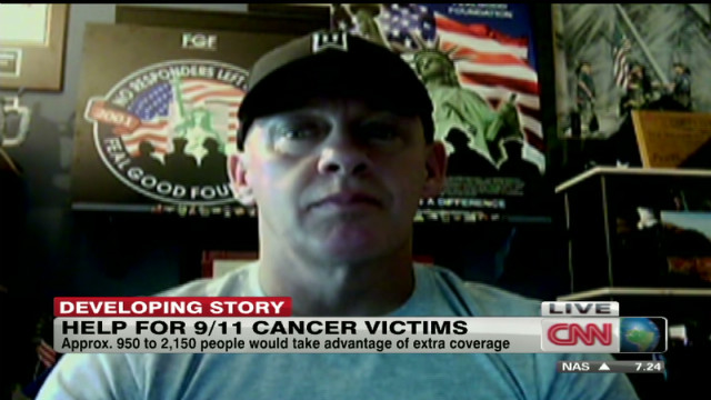 2012: 9/11 responder fights for health care